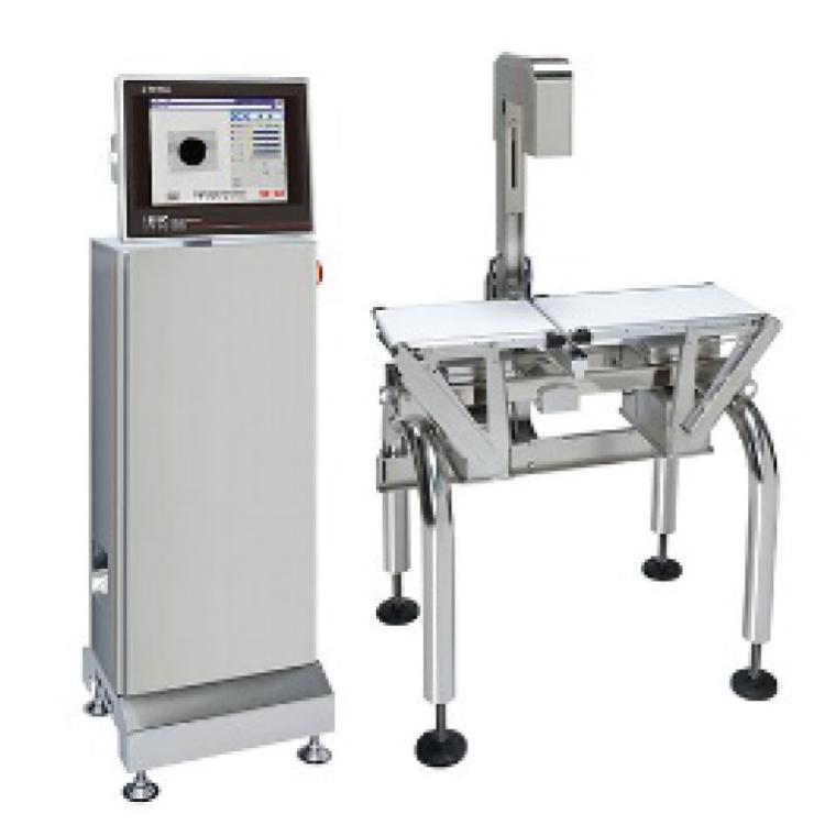 画像でラベル・印字を検査する 自動計量値付機