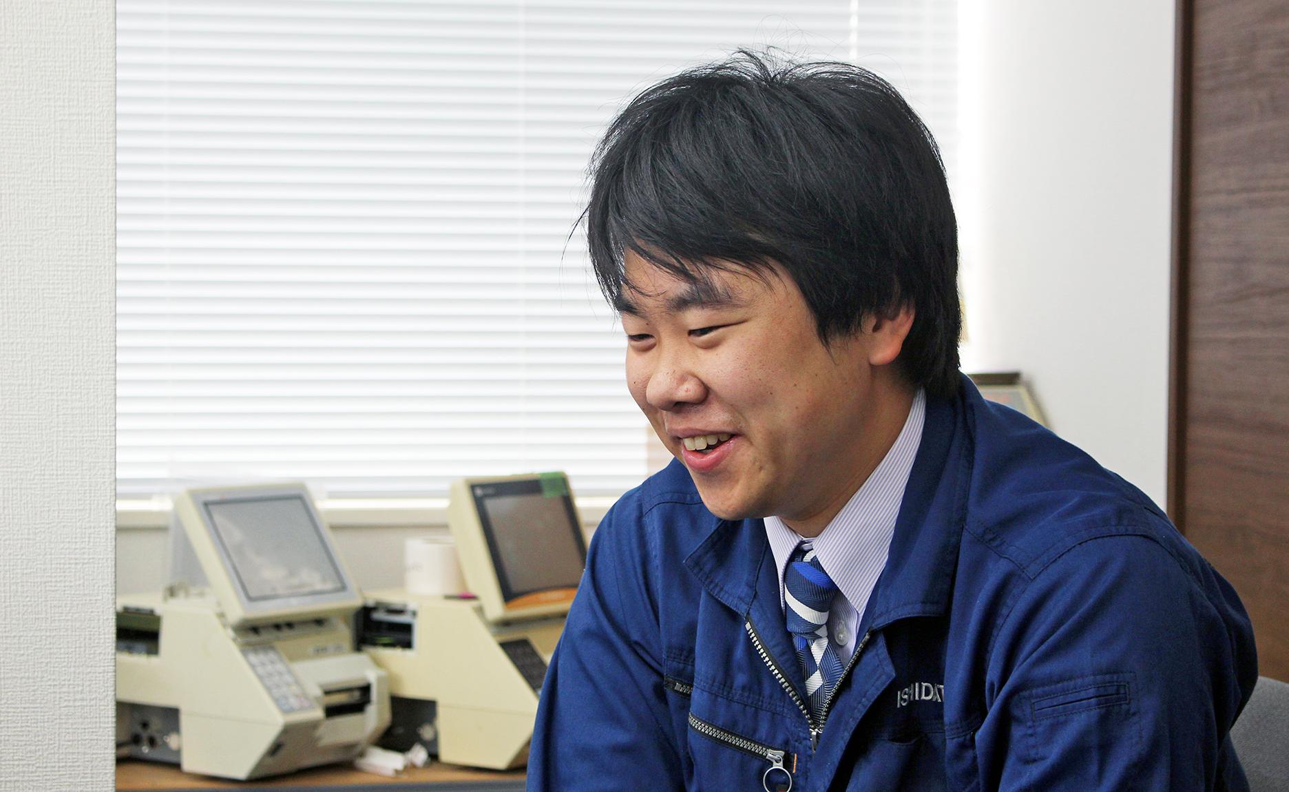 INTERVIEW #01 先輩スタッフの声 SATOSHI MATSUMIYA
