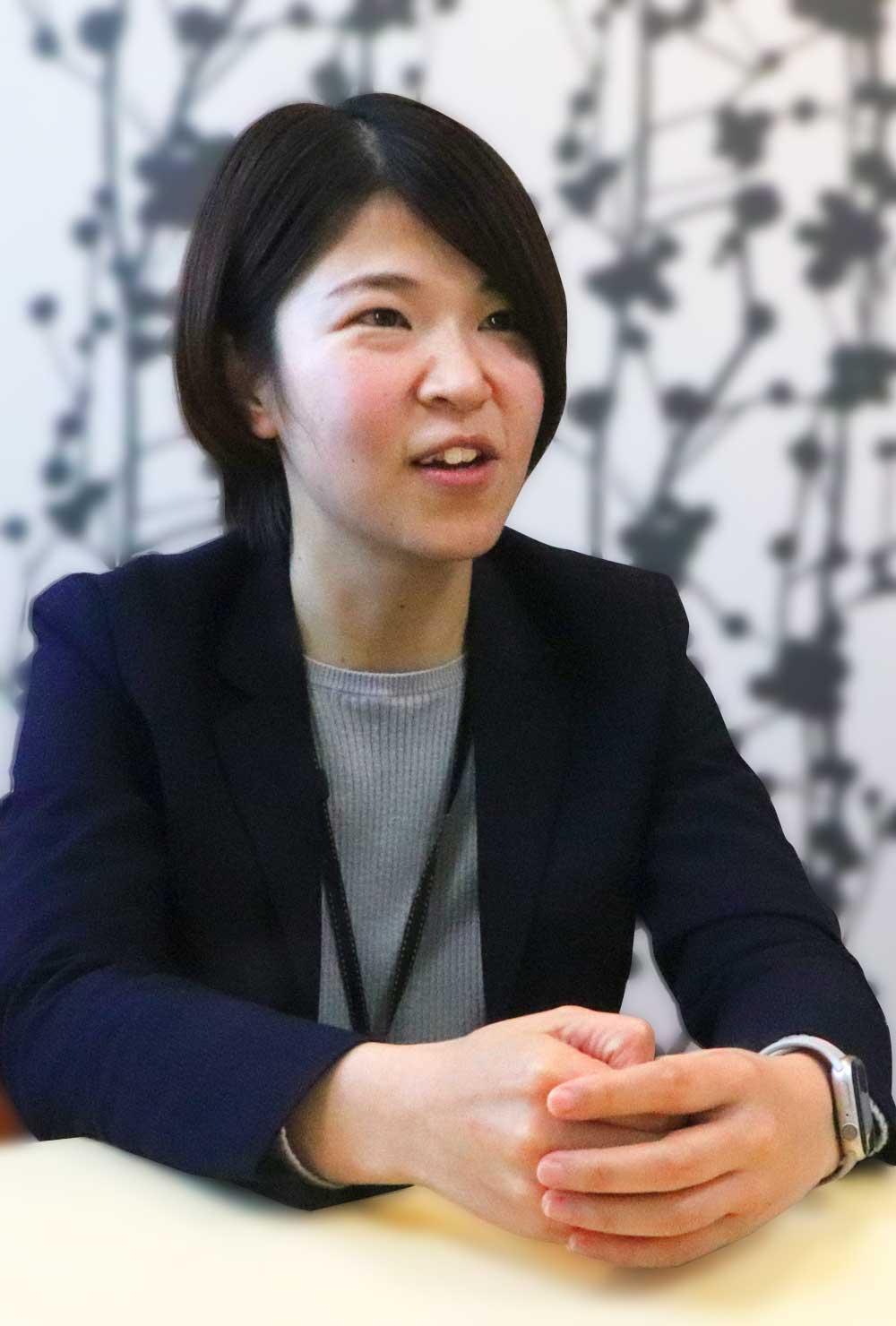 INTERVIEW #02 入社4年目の先輩へ質問!|KONOMI SATO